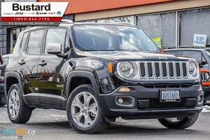 2015 Jeep Renegade LIMITED | LEATHER | MY SKY