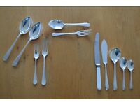 54 Piece Viceroy Silver Plate Cutlery Set