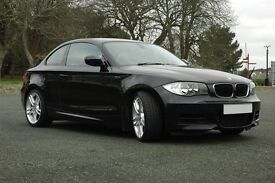 BMW 1 Series (E82) 135i M-Sport 2dr Coupe (59 plate) ONLY 29,000 miles Paddle Shift Semi-Auto