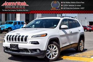 2016 Jeep Cherokee Limited|Luxury Pkg|Nav|Leather|Backup Cam|R.S