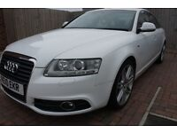 Audi A6 S-Line 2.0 Automatic Diesel (Le-Mans Edition) Sat Nav, Bluetooth, Heated Leather seats.