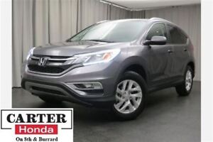 2015 Honda CR-V EX-L + AWD + LEATHER + SUNROOF + CERTIFIED!