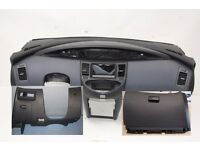 Left hand drive European continental dashboard Nissan Primera P12 2003 - 2008 LHD car conversion