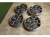 """Genuine FORD Ecosport 17"""" Alloy wheels 4x108 Focus Puma Fiesta MK6 MK7 MK8 MK9 B Max Alloys"""