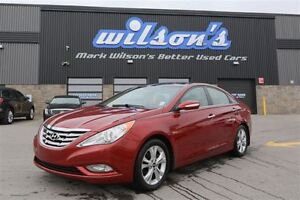 2012 Hyundai Sonata LIMITED! LEATHER! PANORAMIC ROOF!  BLUETOOTH