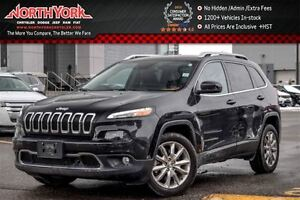 2016 Jeep Cherokee Limited SafetyTec,Tech,Luxury Pkgs|Nav|Leathe