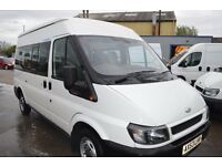 2003 Ford TRANSIT MWB MINI BUS 9 seat in GOOD Condition with MOT Until 2018 JANUARY