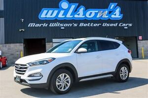 2017 Hyundai Tucson PREMIUM 2.0L AWD! HEATED FRONT+REAR SEATS! $