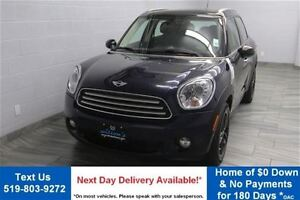 2014 MINI Cooper Countryman AUTOMATIC w/ PARTIAL LEATHER! PANORA