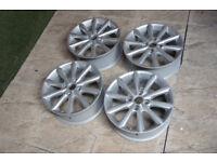 "4x Genuine FORD BMAX / Fiesta 16"" Alloy wheels 4x108 Fiesta MK6 MK7 MK8 MK9 B Max Alloys"