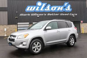 2011 Toyota RAV4 LIMITED 4WD! SUNROOF! REAR CAMERA! $72/WK, 6.24