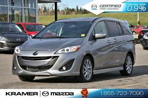 2016 Mazda Mazda5 GT with 6-Speed Manual