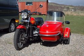 HONDA GOLDWING and SIDECAR - GL1100 OUTFIT