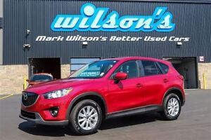 2014 Mazda CX-5 GS NEW BRAKES! NAVIGATION! SUNROOF! HEATED SEATS