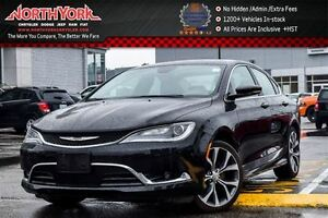 2016 Chrysler 200 C|Sun/SoundPkg|PanoSunroof|R-Start|AlpineSpkrs