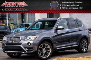 2016 BMW X3 xDrive28d|Pano_Sunroof|Nav|Backup Cam w/Pkng Senso