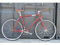 Brand new single speed fixed gear fixie bike/ road bike/ bicycles + 1year warranty & free service 7e