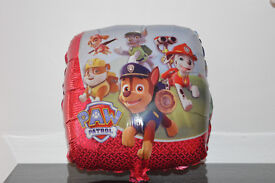 "5 X 16"" Inch Paw Patrol Dog Square Foil Helium Party Balloon Birthday Chase Sky"