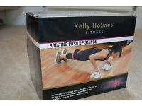 Kelly Holmes push up stands