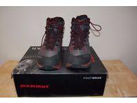 Mammut hiking boots, mens, UK9/EU43/US10