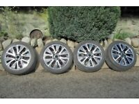 Suzuki SX4 - S-Cross R17 Alloy Wheel Metallic Grey Diamond And Tires 205/50/R17 for sale  Pitlochry, Perth and Kinross