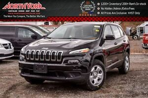 2016 Jeep Cherokee NEW Car Sport 4x4 3.2 V6 Engine Cold Weather