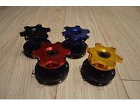 Quick Release Snap Off Steering Wheel SPARCO NARDI OMP - EVO SUBARU HONDA CIVIC TYPE R EK9 EP3 EJ9