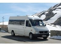 VW Lt35 Camper, 2005 54reg 2.5TDI 124k miles, Mot Aug 18, top spec, campervan / motorhome conversion