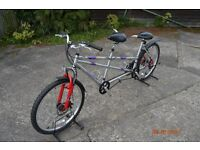 """ALLOY TANDEM CYCLE FRONT SUSP. HARDLY USED 26"""" WHEEL"""