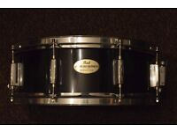 Pearl Export snare drum.