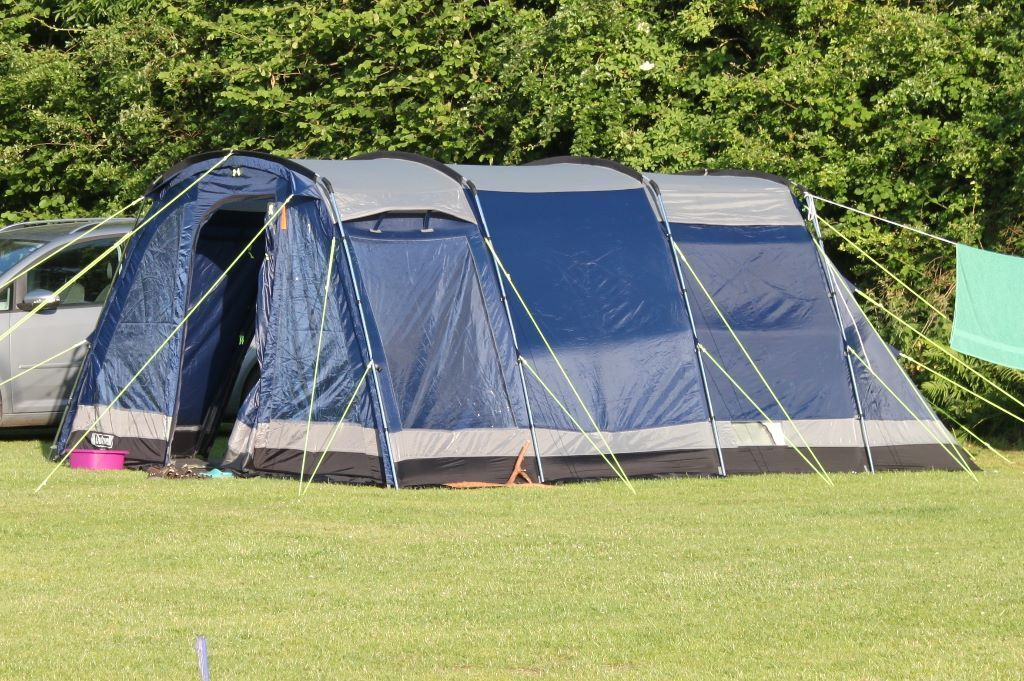 Outwell colorado 5 2 room tunnel tent in bishopston for Small 2 room tent