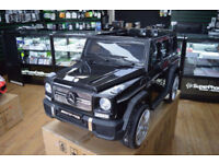 MERCEDES G65 WAGON KIDS RIDE ON ELECTRIC REMOTE CONTROL CAR