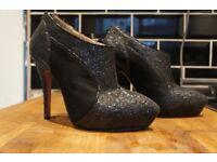 KG glitter heels (size 7/40)