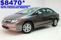 2012 Honda Civic LX Sedan * A/C * Cruise * Gr. Électrique *