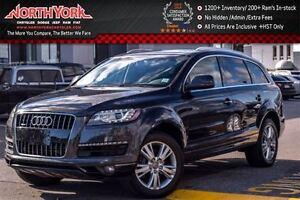 2013 Audi Q7 3.0L|PanoSunroof|RearCam|ParkSensors|Htd Front Sea