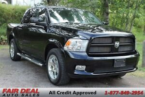 2012 Ram 1500 Sport: Fully Loaded/Leather & Ventilated Seats