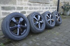 Alloy Wheels (Black) Set of 4