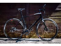Mens Pushbike, Flat Bar Road Bike, Giant Rapid 2, (2016 Model) As new condition.