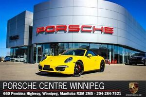 2013 Porsche 911 Cabriolet Carrera 4S Certified Pre-Owned With W
