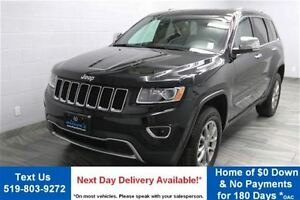 2015 Jeep Grand Cherokee LIMITED w/ NAVIGATION! LEATHER! REVERSE