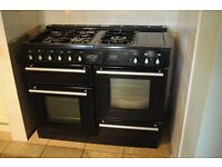 Rangemaster double oven cooker. Excelent condition. 2 ovens, 5 burners, hot plate.