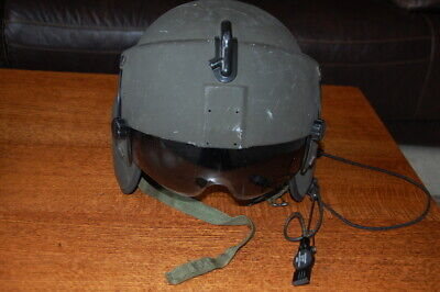 Gentex Helicopter Crew Flight Helmet HGU-56/P, Medium Two Visors included