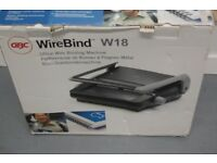 GBC WireBind W18 Office Wire Binding Machine. New in box. Office paper binder.