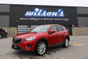 2015 Mazda CX-5 AWD GT LEATHER! NAVIGATION! REAR CAMERA! SUNROOF