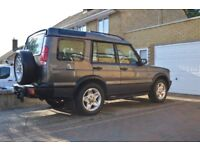 Land Rover discovery grey 2001 leather good mot