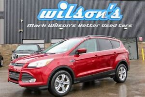 2014 Ford Escape 4WD! LEATHER! NAVIGATION! 17 ALLOYS! $79/WK, 4.
