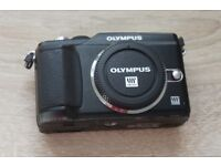Olympus Pen PL-2 body with accessories