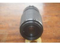 Vivitar Canon fit 28-200mm zoom lens