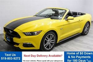 2015 Ford Mustang GT PREMIUM! CONVERTIBLE 5.0L V8! $128/WK, 5.49