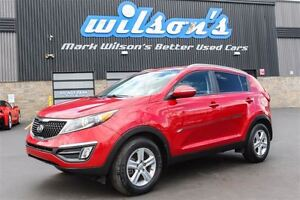 2015 Kia Sportage LX HEATED SEATS! BLUETOOTH! $63/WK, 5.49% ZERO